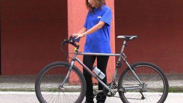 A Ecomondo c'è anche Monica, il misura-smog da bici