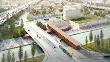 """Come sarà la stazione Pont-de-Bondy del """"Super Metrò"""" di Parigi"""