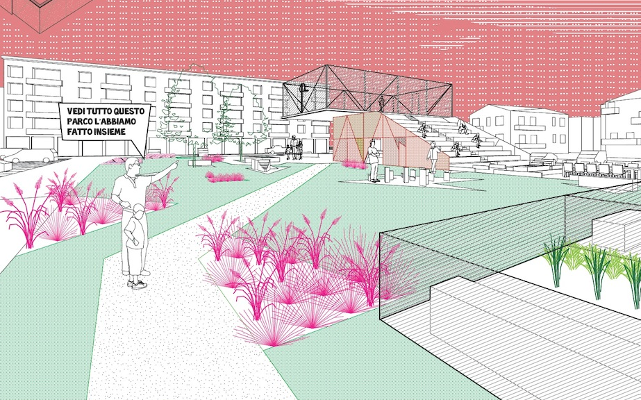 Dettaglio del progetto per San Bonifacio – Luca Vandini + Leonardo Tedeschi