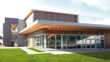 La nuova biblioteca e centro civico di Arese in legno e Ca