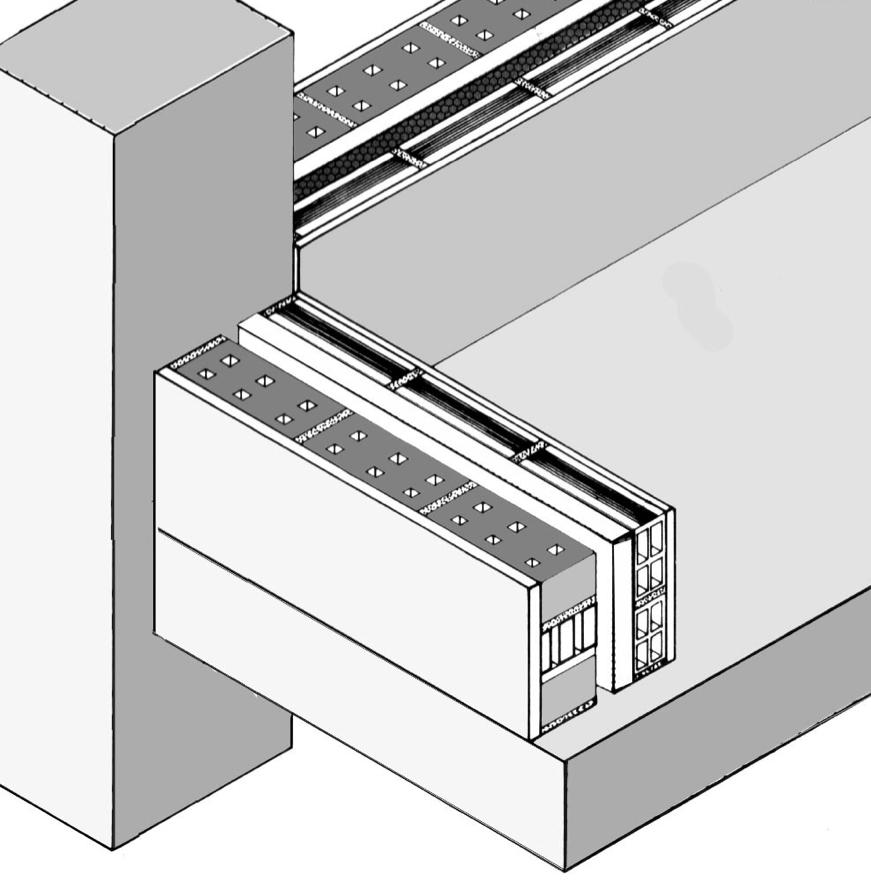 Franco 11_FIG 2_Schema del tamponamento in muratura cava usato nel piano di ricostruzione INA-Casa (Disegno S. Lanzu)