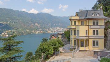 Coperture in alluminio: il rivestimento in scaglie per il recupero di una villa storica sul lago di Como