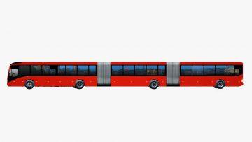 L'autobus più lungo del mondo: il Volvo Gran Artic 300