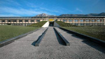 """La smart factory di Bagnoli Irpino (AV) è un """"edificio libellula"""""""