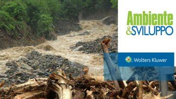 Rischio idrogeologico: ripartiti i finanziamenti fra le regioni