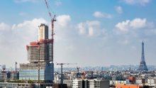 Palazzo di Giustizia a Parigi di Renzo Piano: le strutture di piano e in elevazione