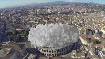 Copertura Arena di Verona: e se fosse stata una nuvola pneumatica?