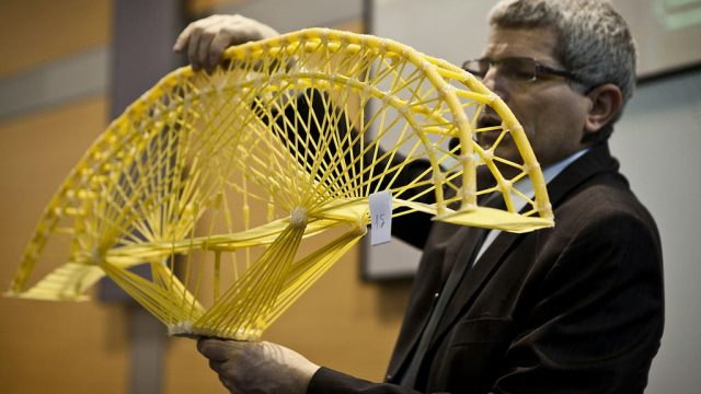 Ponti costruiti con la pasta pugliese: è la Spaghetti Bridge Competition