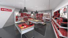 I punti vendita Hilti si rifanno il look: tutto pronto per l'inaugurazione a Trezzano sul Naviglio