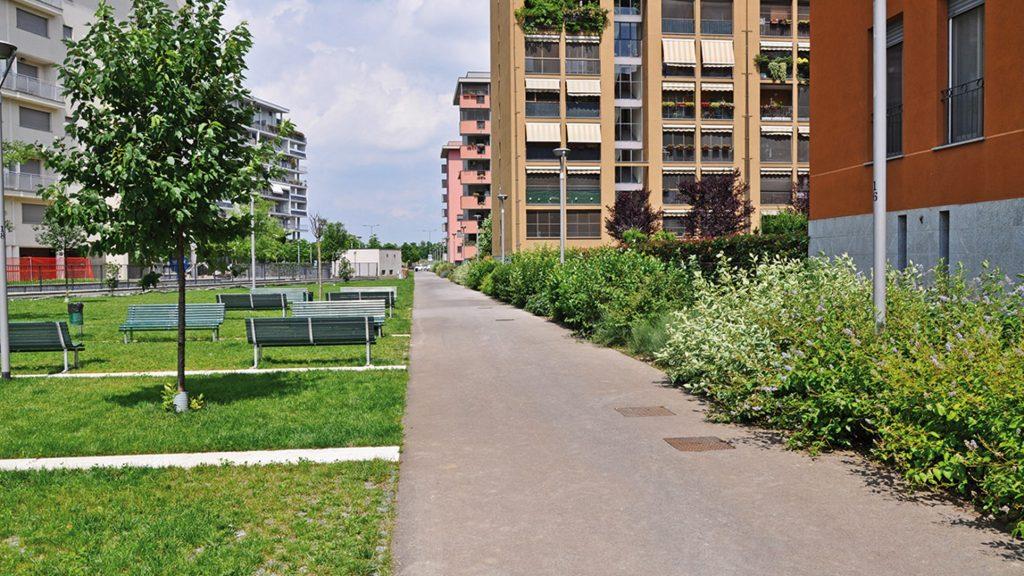 Vialetti del Quartiere Santa-Giulia, Milano