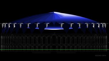 Copertura Arena di Verona: e se fosse un 'diricottero'?