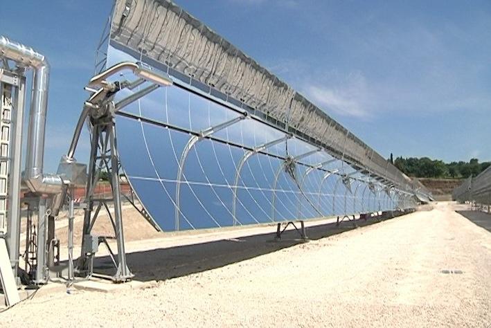 L 39 impianto solare archimede da casaccia al tibet - Centrale solare a specchi piani ...