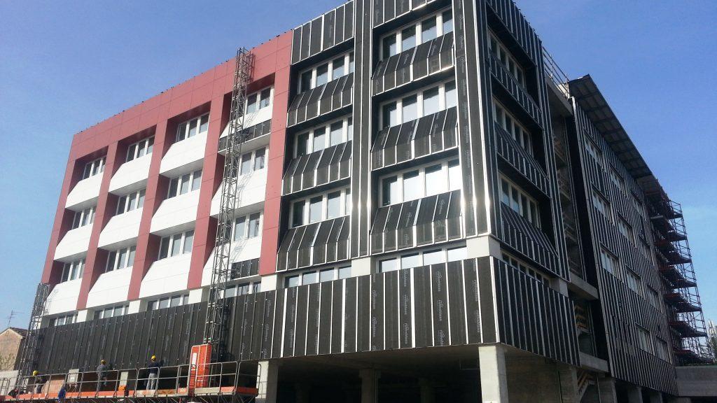 Un caso di applicazione dei sistemi costruttivi a secco per pareti esterne Jendy Joss®