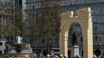 L'Arco di Palmira stampato in 3D arriva in Italia