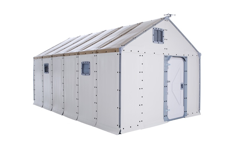 Better Shelter unit © All Rights Reserved - Better Shelter - UNHCR - Ikea Foundation - Jonas Nyström