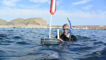 L'erosione costiera studiata a nuoto: intervista ai ricercatori di Geoswim