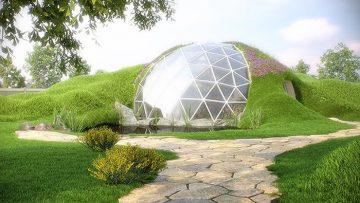 Cupole geodetiche solari al Polo Nord: perché viverci è possibile
