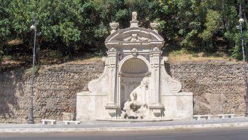 Il restauro della Fontana del Prigione a Roma
