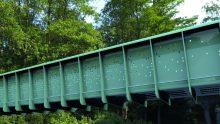 Il primo ponte pedonale modulare di plastica, da un'idea di Arup