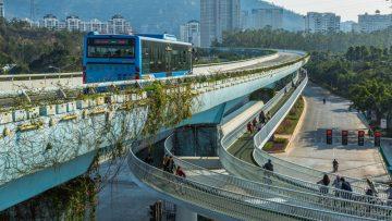 La pista ciclabile sopraelevata più lunga del mondo è cinese: i 7,6 km di Xiamen