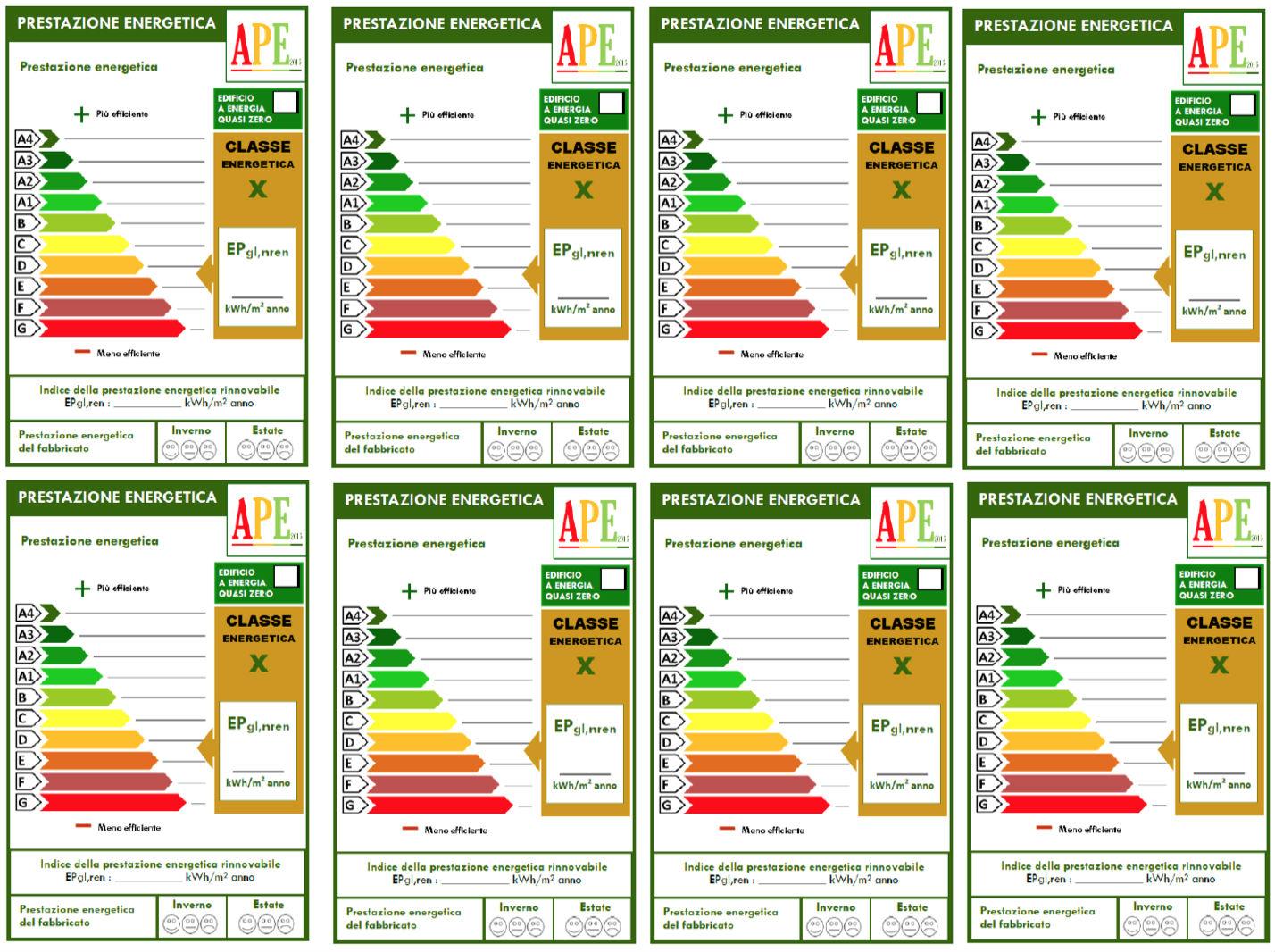 Classi Energetiche Edifici : Guida pratica al nuovo ape per gli edifici residenziali