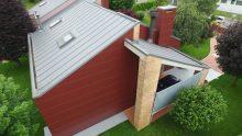 """Una facciata ventilata """"su misura"""" per riqualificare una villetta nell'udinese"""