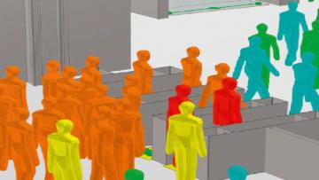 Progettazione e sicurezza: a Milano un seminario gratuito sulla simulazione dinamica delle folle