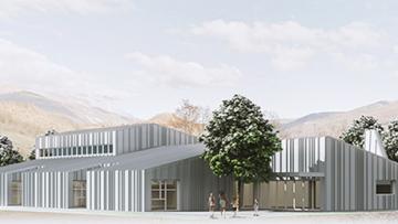 Ricostruzione post sisma: il progetto della nuova scuola di Accumoli
