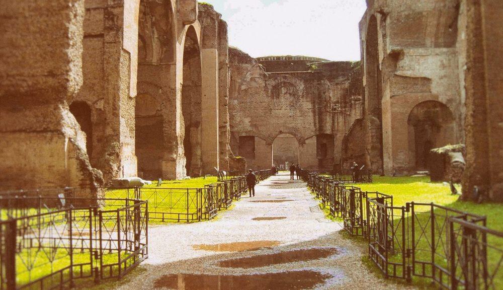 La seconda tappa del GRAB, tra il Circo Massimo e le Terme di Caracalla (© GRAB)