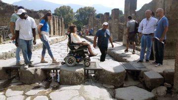 Pompei per tutti: 3 km di percorso accessibile dentro gli scavi
