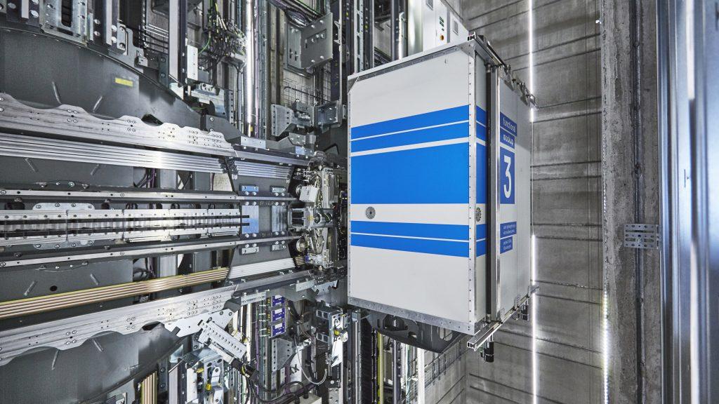 Multi, l'innovativo sistema di ascensori presentato da Thyssenkrupp Elevator