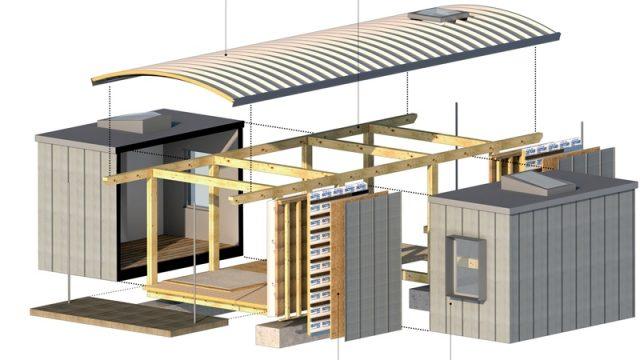 Un modulo abitativo prefabbricato, efficiente e solidale: è PUR-E House