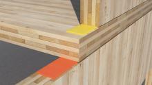 Come incidono i sistemi di fissaggio nella trasmissione del rumore nelle strutture in legno?
