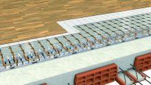 Sistemi radianti a secco: con Radial Alu G Isolconfort bastano 4 cm per scaldare la casa
