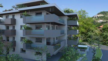 L'edificio residenziale in classe A+ con taglio termico su misura: è 08CONCAD'ORO a Bergamo