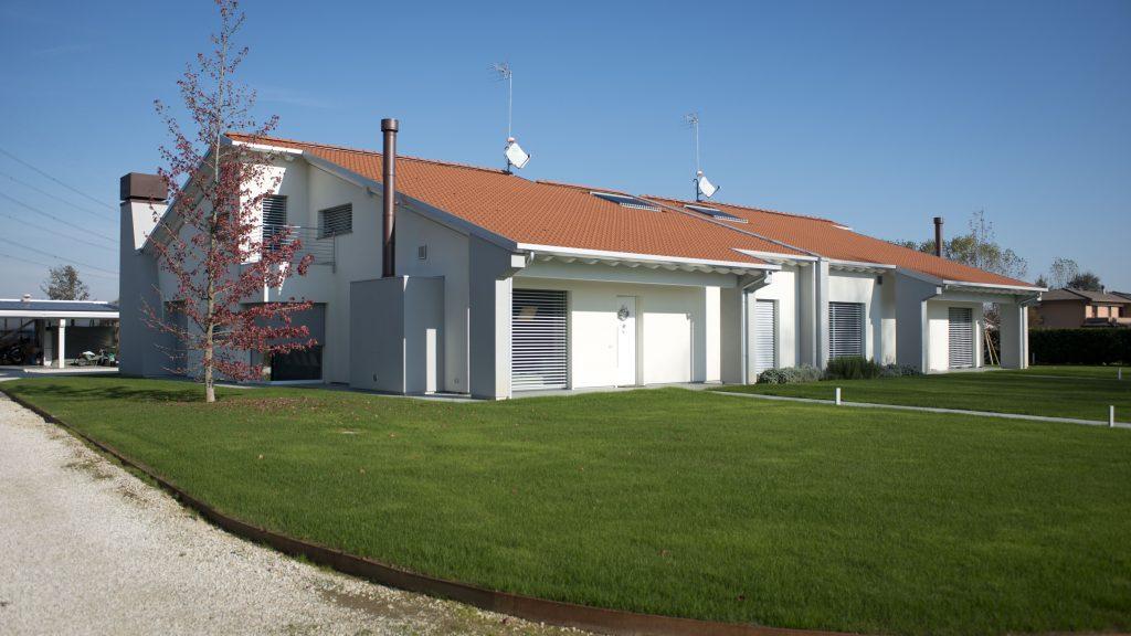 La casa passiva a Gardignano