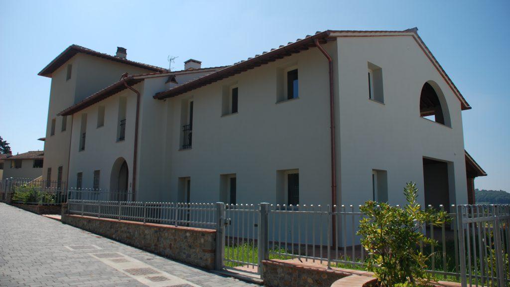 Sicurezza antisismica con laterizi Wienergerger per il Borgo Lo Scopeto Montelupo Fiorentino