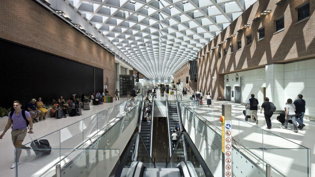 Galleria interna - scale mobili