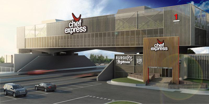 Come si presenta il nuovo Chef Express di Novara nord e sud; progetto di Iosa Ghini Associati (2017) © Iosa Ghini Associati