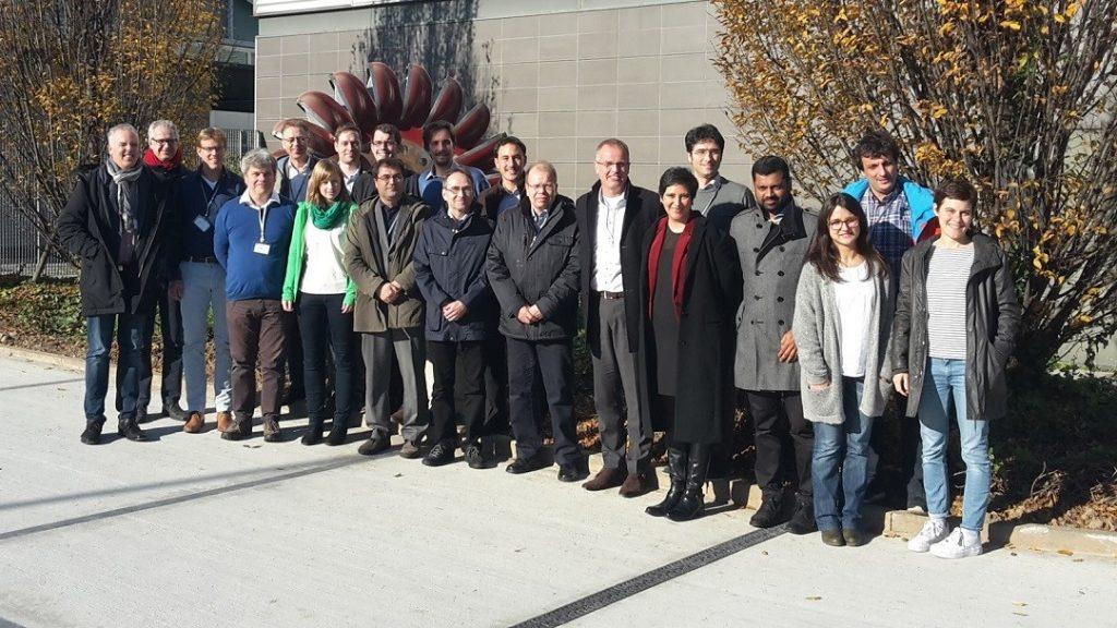 Il gruppo di lavoro FLEDGED al meeting di inizio progetto