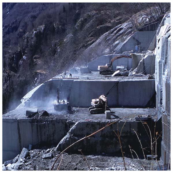Attività estrattiva nella Val D'Ossola © Domograniti