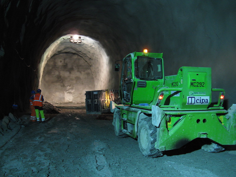 Situazione scavi Periadriatica Mules