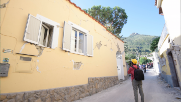 Terremoto a Ischia: partiti ieri i primi sopralluoghi di agibilità