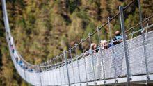 Il più lungo ponte pedonale sospeso del mondo a Zermatt