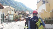 Terremoto a Ischia, le immagini dei primi rilievi degli ingegneri agibilitatori