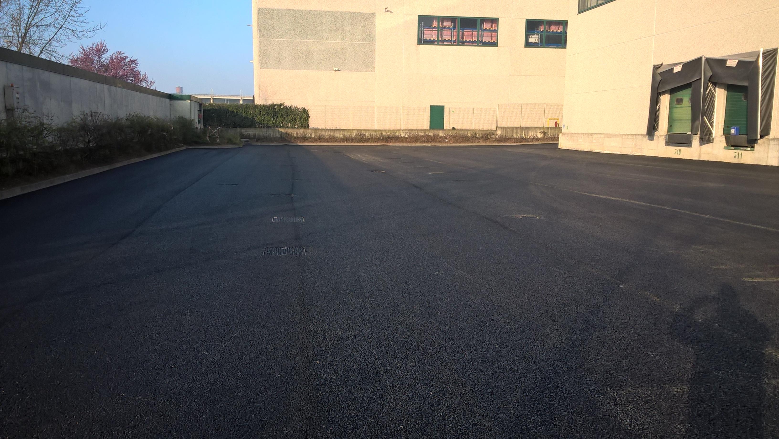 Figura 3 - Vista complessiva dell'asfalto nuovo
