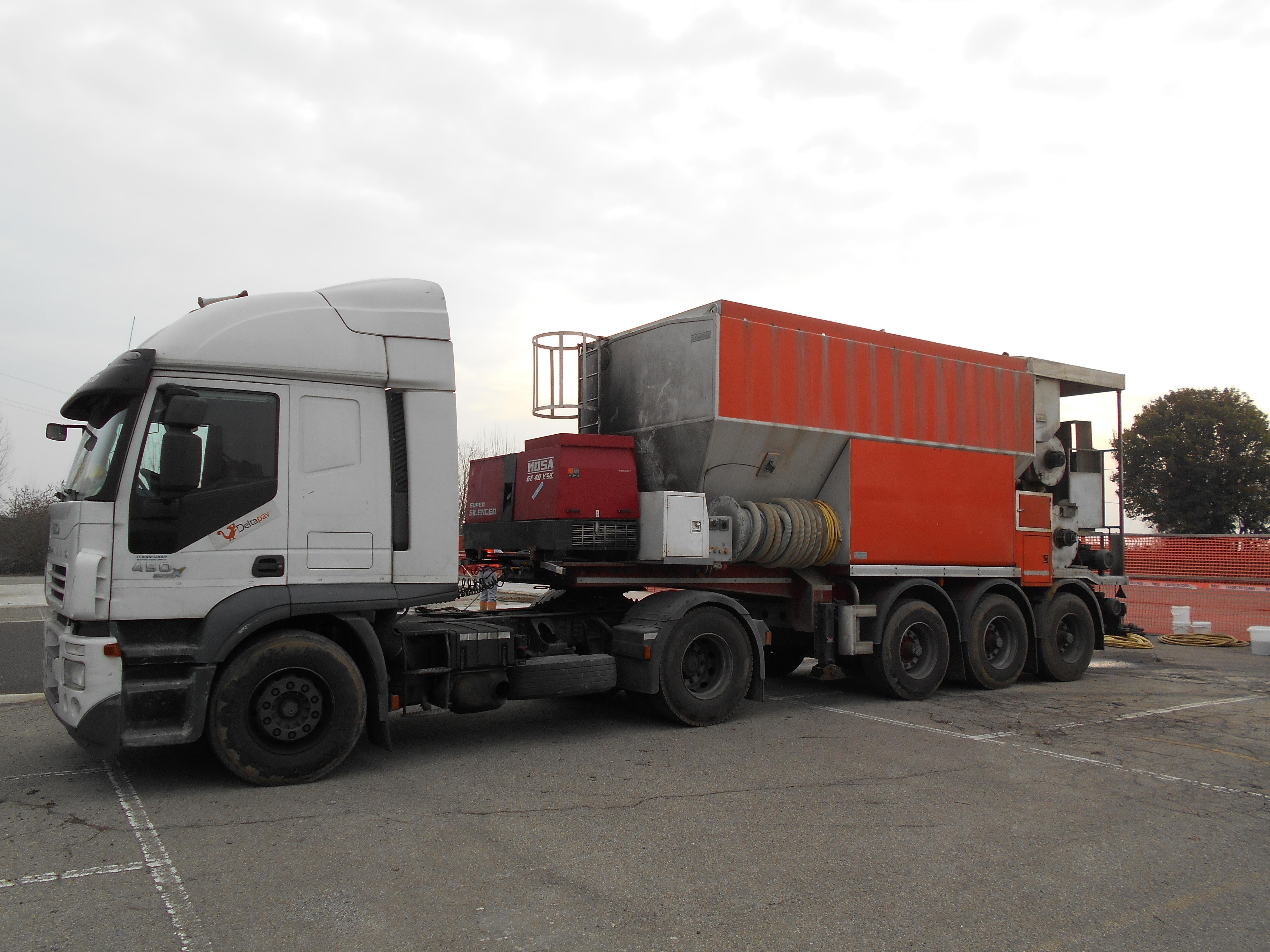 Figura 4 - Mescolatore su camion