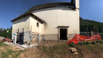 Consolidamento fondazioni: Systab per la chiesetta privata di Montagna (Bz)