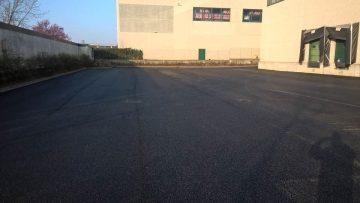 Pavimentazioni industriali: i.tech CARGO by Italcementi per il rifacimento dell'area esterna in un centro logistico nel lodigiano