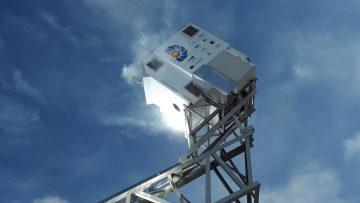 Il primo disco solare al mondo alimentato da microturbina ad aria